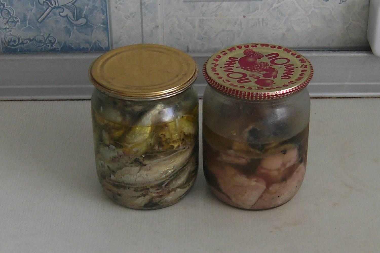 Как сделать рыбные консервы в масле из  653